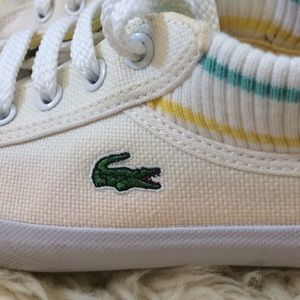 Lacoste Beni canvas size 5.5  shoe